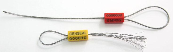 Picture of GENSEAL-PLASTIC COATED CABLE SEAL